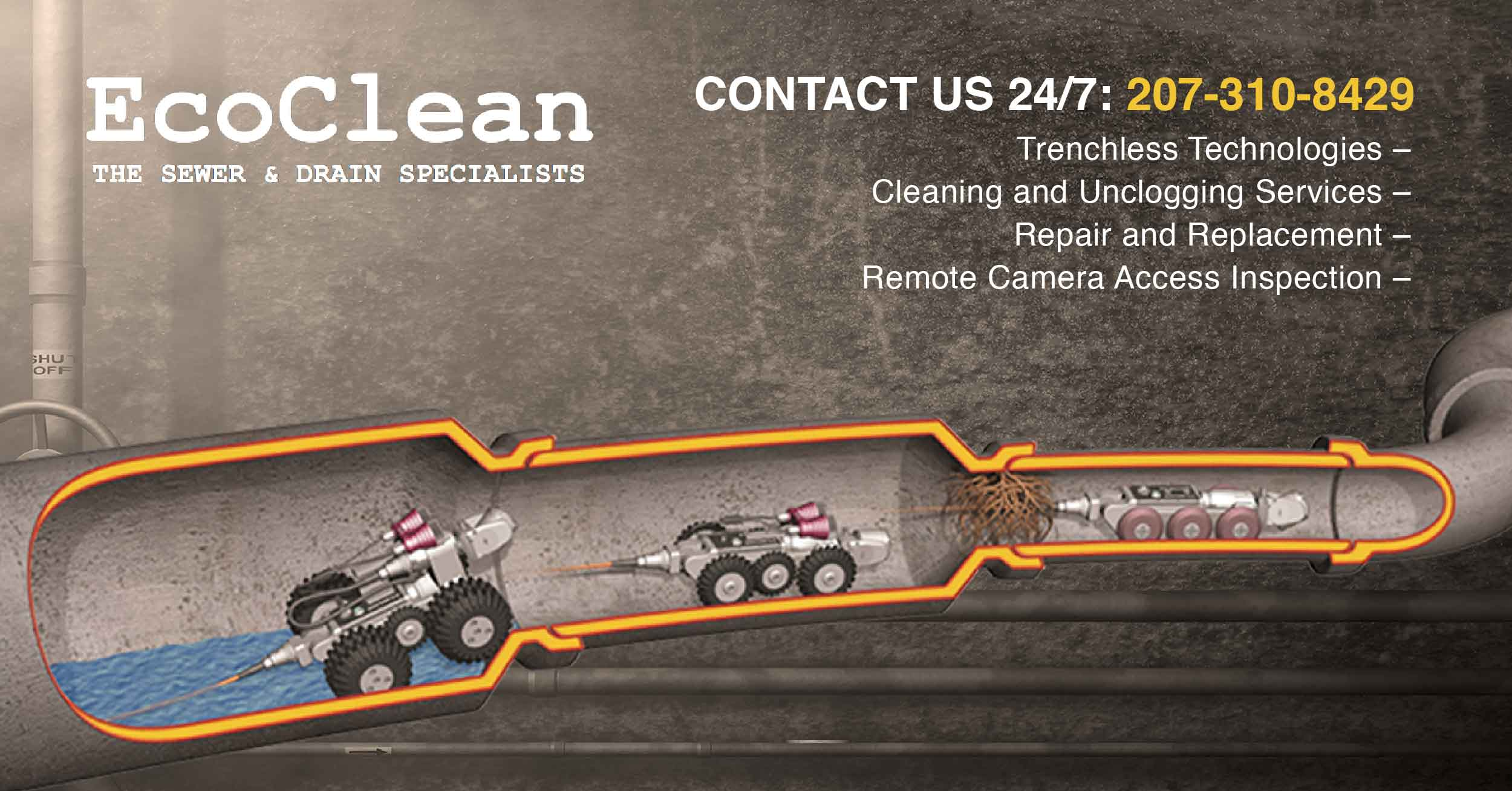 EcoClean | The Sewer & Drain Specialists