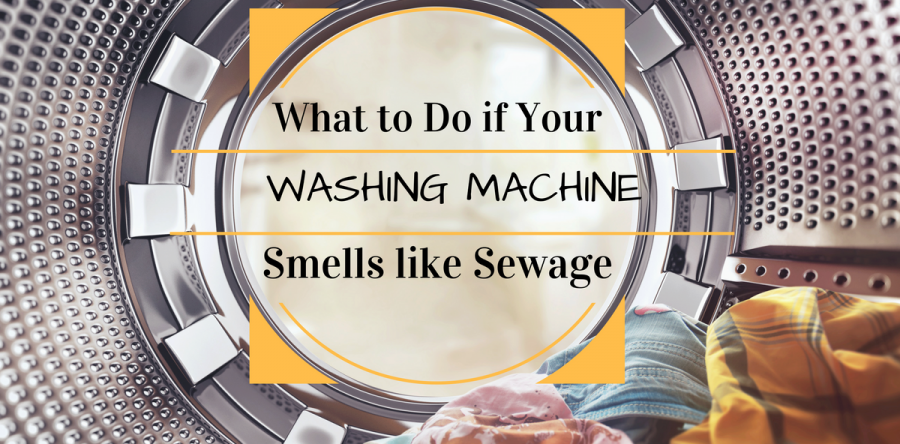 smell out of washing machine
