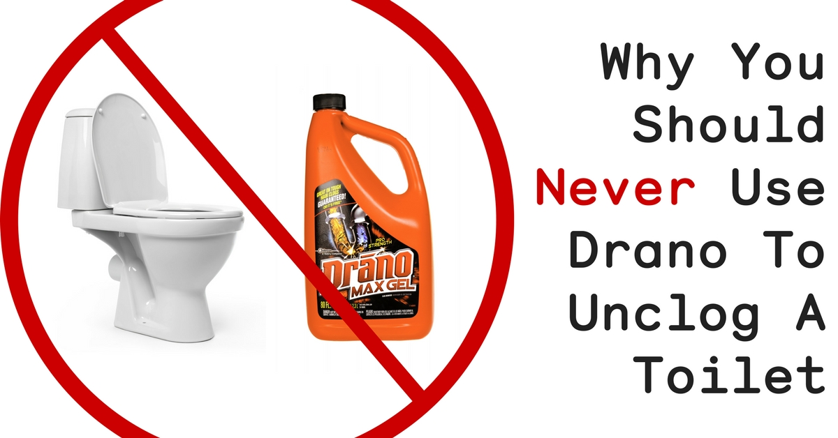 Here S Why You Should Never Use Drano To Unclog A Toilet